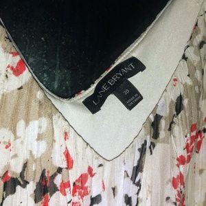 Lane Bryant printed maxi dress size 20